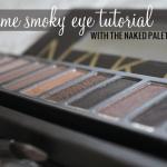 Daytime Smoky Eye Using the Naked Palette