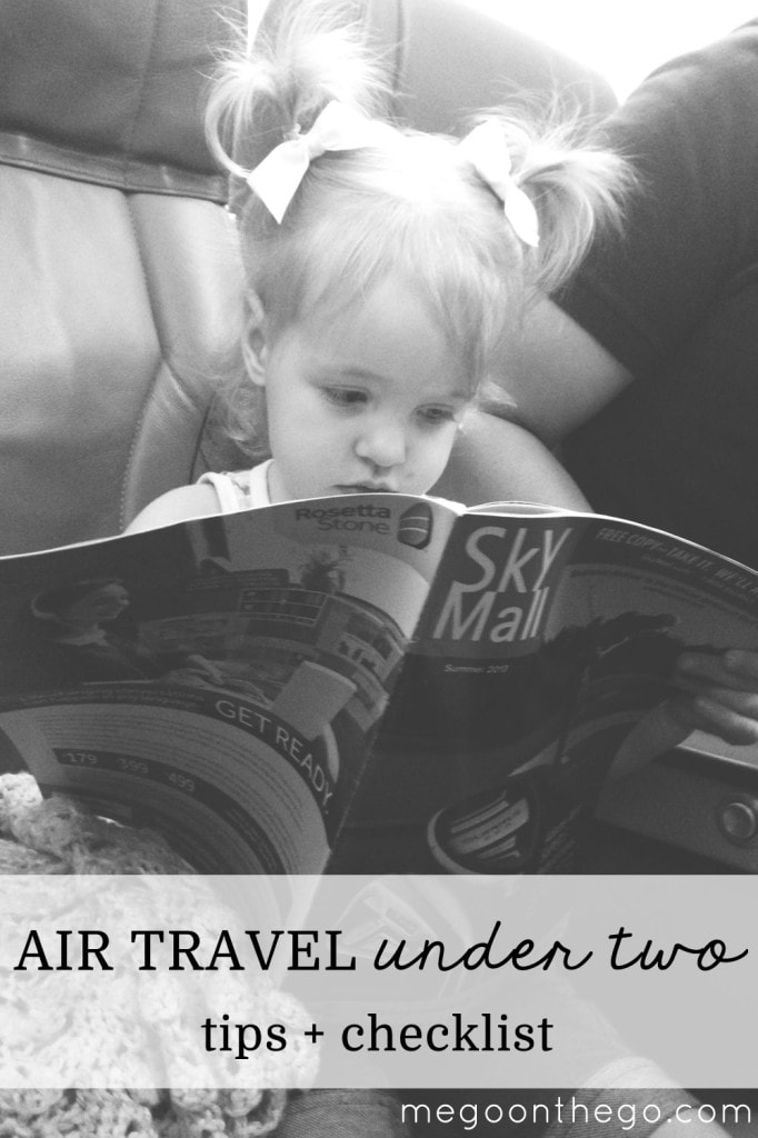 air travel under 2