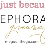 just because sephora giveaway