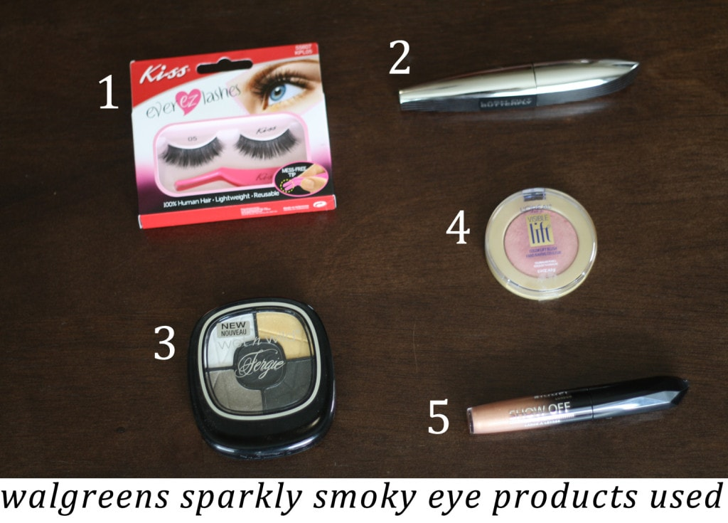 Products Used for Tutorial Inspired by the Walgreens Holiday Guide #HappyAllTheWay #shop #cbias