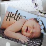 Caroline's Birth Announcements + Tiny Prints Giveaway!