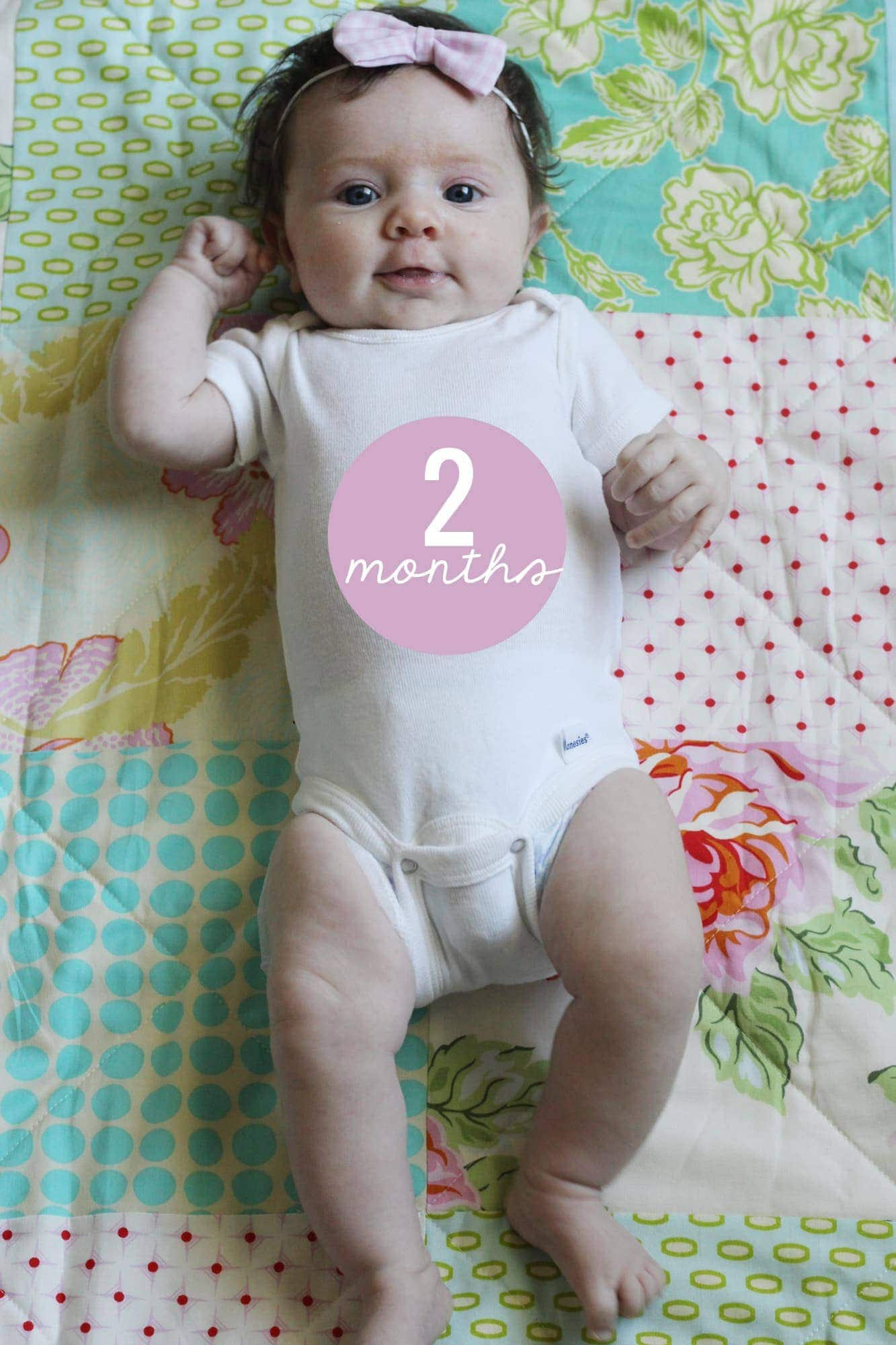 Baby Month By Month Milestones