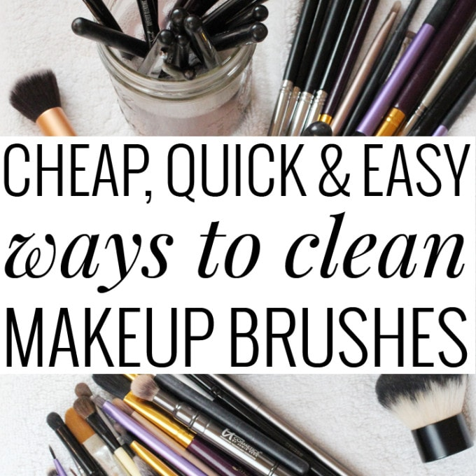 mac how to clean makeup brushes