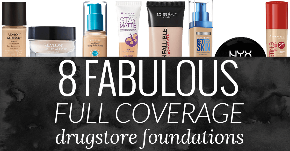 Best full coverage foundation dewy finish