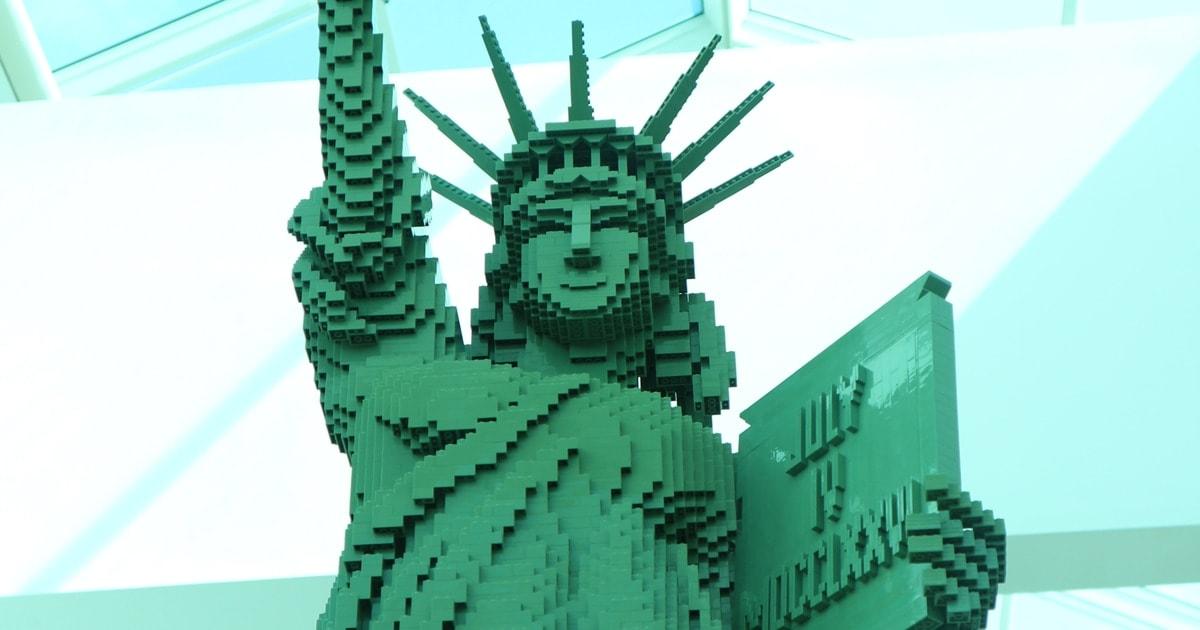 LEGO Americana Roadshow at Baybrook Mall