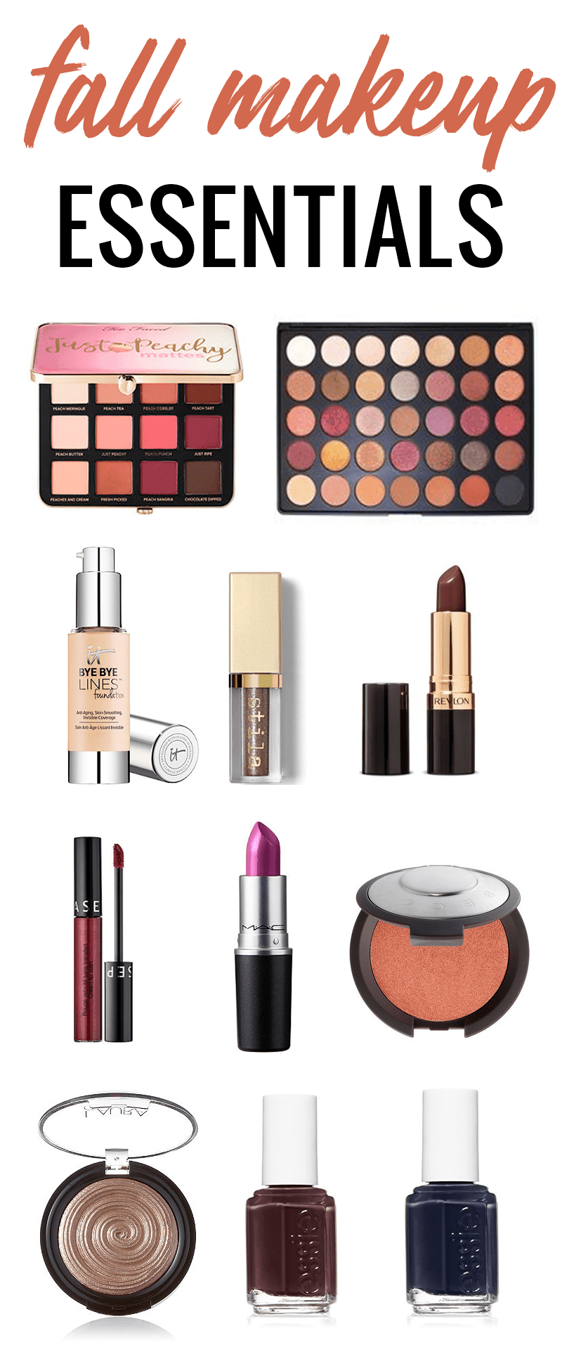 Fall Makeup Essentials You'll Want to Get Your Hands On by Houston beauty blogger Meg O. on the Go